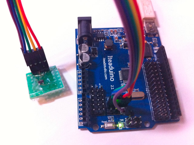 Accessing a teeny tiny I2C EEPROM with Arduino | ArduinoDev com