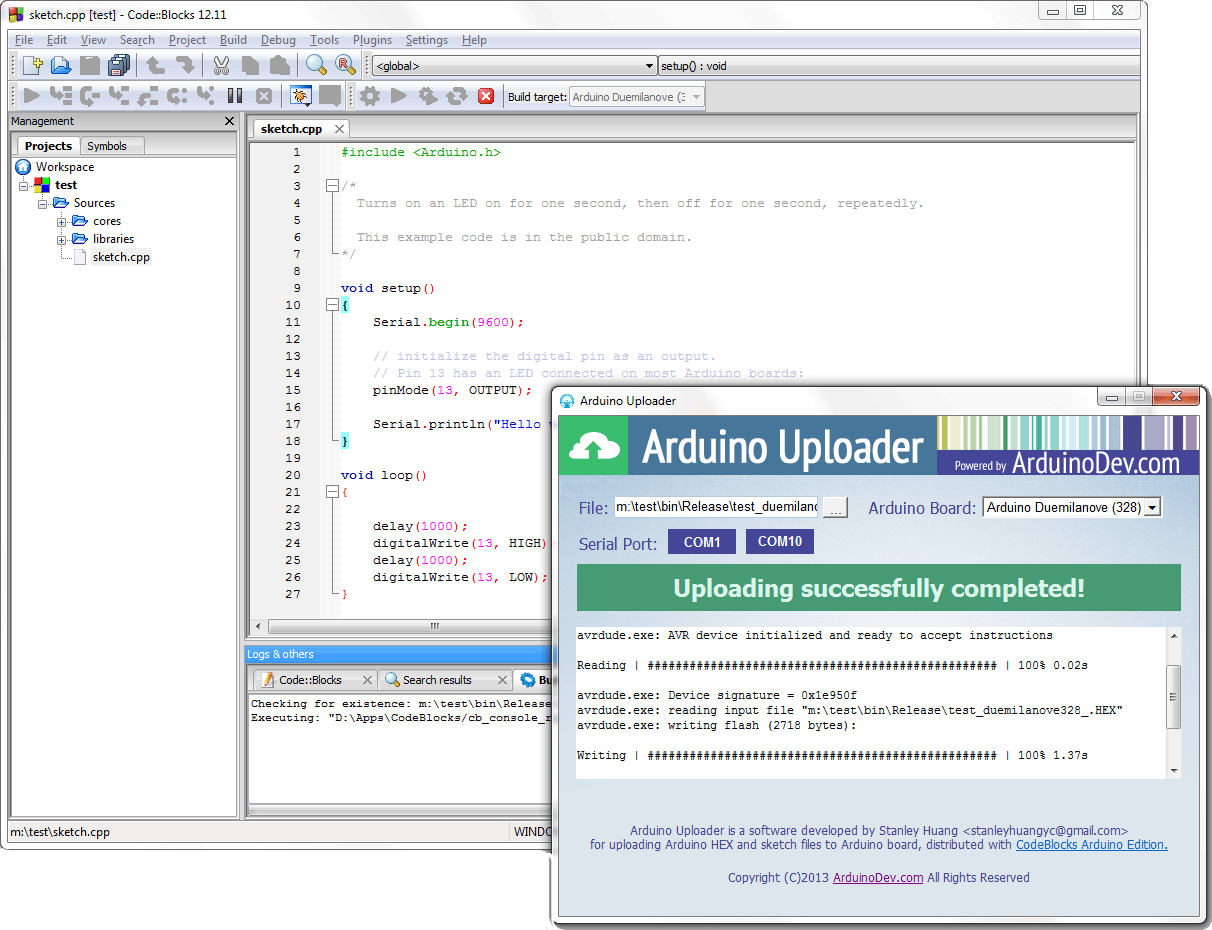 codeblocks_arduino_uploader