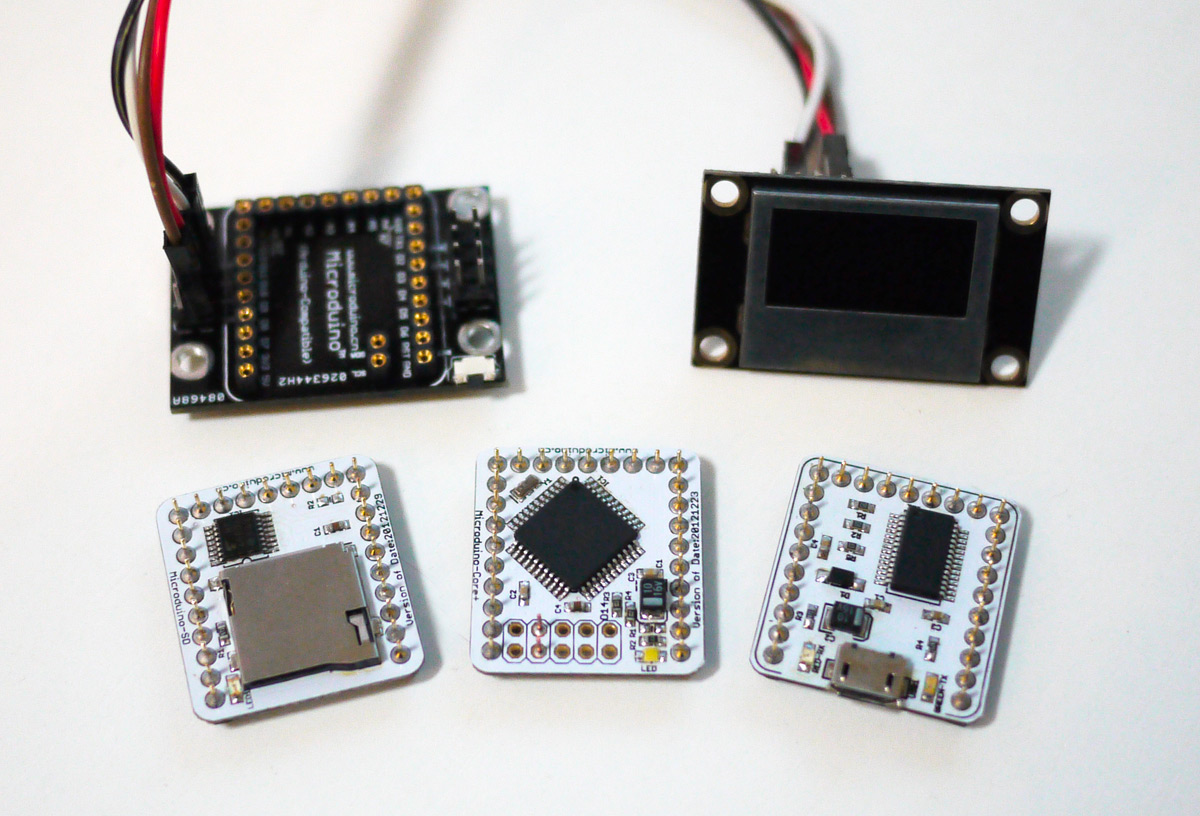Building an obd ii gps data logger with microduino