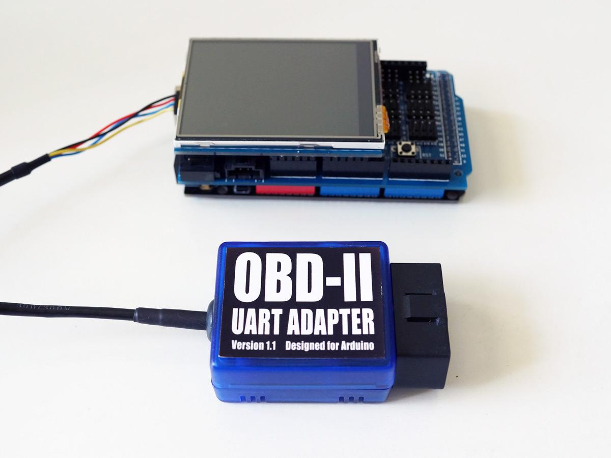 Obd ii gps g force data logger based on arduino